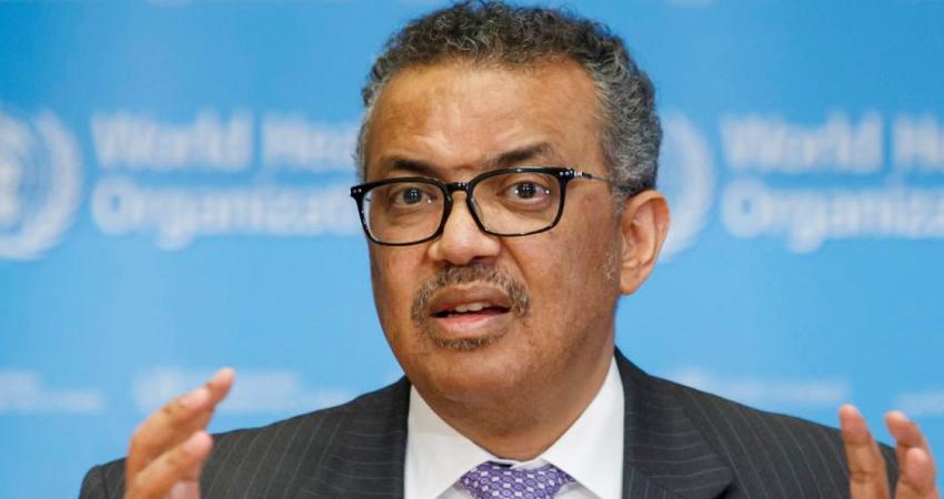 WHO के प्रमुख टेड्रोस अदनोम घेब्रेयसस की कोरोना रिपोर्ट आई पॉजिटिव, हुए क्वारनटीन