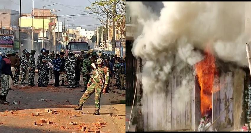 झारखंड: CAA के समर्थन में जुलूस पर पथराव, वाहन व दुकानें जलाईं, शहर में धारा 144 लागू