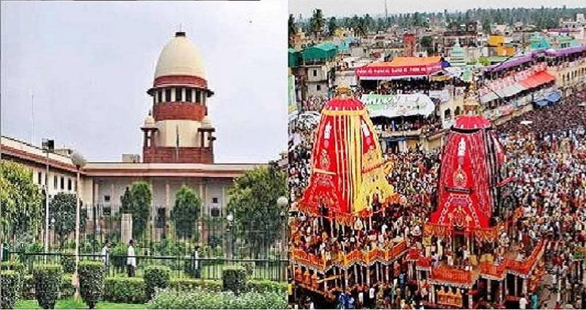 केंद्र ने SC से कहा, भक्तों की भागीदारी के बिना हो सकती है भगवान जगन्नाथ की रथयात्रा
