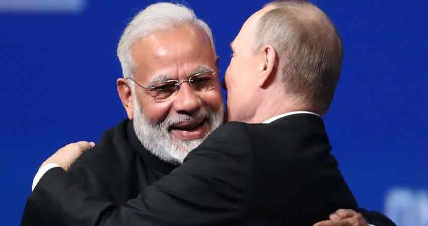 आज भारत आएंगे रूस के राष्ट्रपति पुतिन, S-400 डिफेंस डील होगी फाइनल