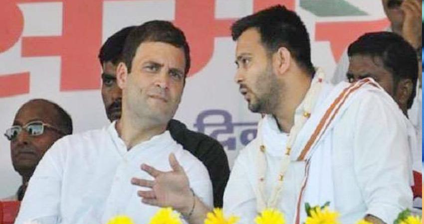 Bihar Election: राहुल ने पूछा- चीनी सैनिकों को हिन्दुस्तान की धरती से कब भगाया जायेगा