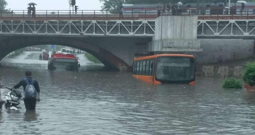 मानसून में जलभराव के लिहाज से दिल्ली के 147 स्पॉट संवेदनशील