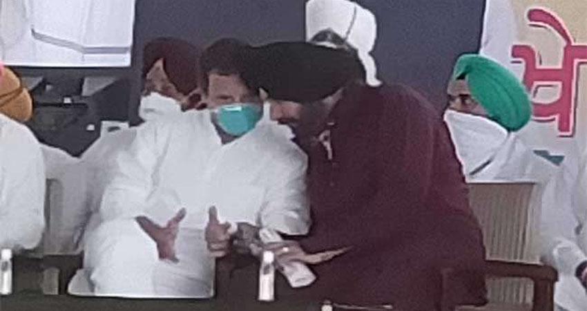 राहुल गांधी की ट्रैक्टर यात्रा से एक दिन बाद ही बाहर हुए सिद्धू, हरीश रावत ने किया बचाव