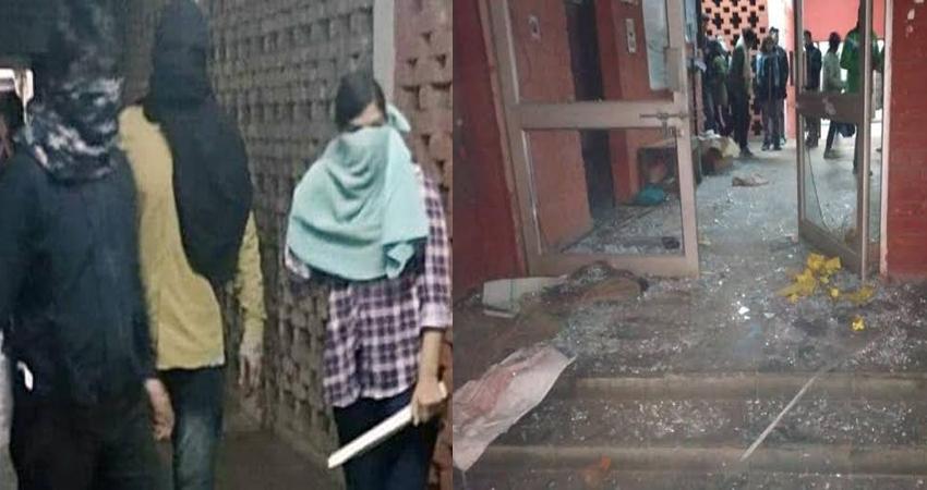 JNU हिंसा: जानें कौन थे नकाबपोश हमलावर? स्टूडेंस लगा रहे एक- दूसरे पर आरोप