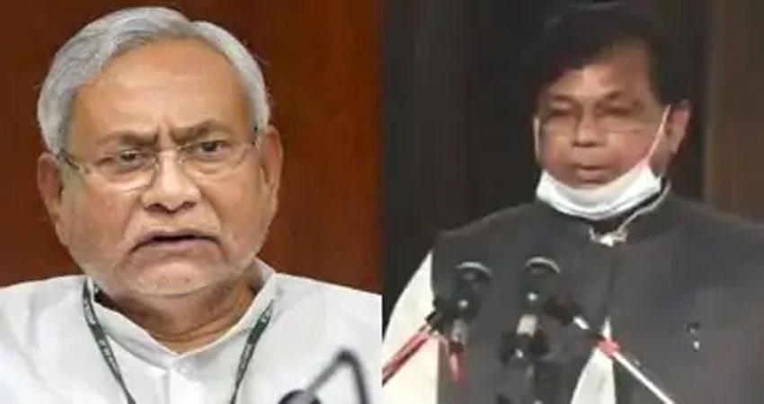 मेवालाल चौधरी मंत्री पद से दे सकते हैं इस्तीफा, बुधवार को नीतीश कुमार से की मुलाकात