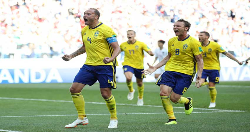 FIFA WC: दक्षिण कोरिया 1-0 से हरा कर स्वीडन ने किया विजयी आगाज