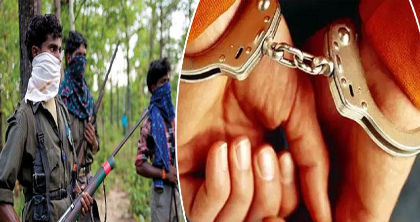 दंतेवाड़ा में STP टीम के हत्थे चढ़ा तीन लाख का इनामी नक्सली