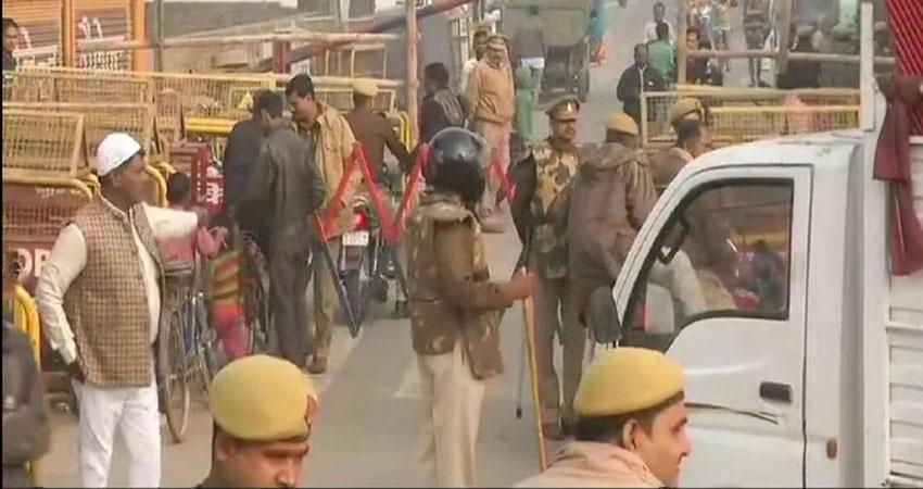 बाबरी विध्वंस बरसी: छावनी में तब्दील हुई अयोध्या नगरी, मजिस्ट्रेट के हाथ में सुरक्षा की कमान