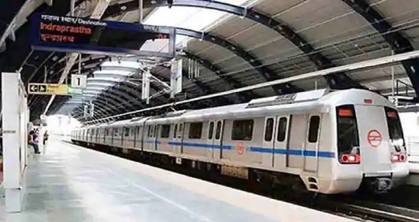 सुरक्षा कारणों से लाल किला मेट्रो स्टेशन के गेट बंद, भारी पुलिस बल की तैनाती