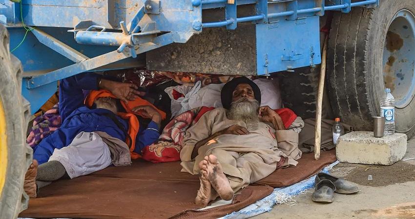 किसान आंदोलनः 60 साल के किसान की टिकरी बॉर्डर पर गला रेतकर हत्या