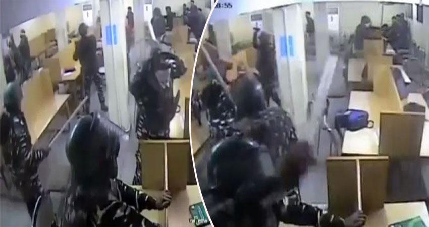जामिया हिंसा: छात्रों पर लाठी बरसाते दिखी पुलिस, JCC ने जारी किया Video