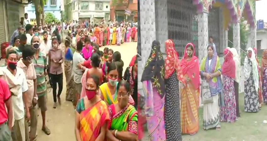 बंगाल चुनाव: चौथे चरण में भी बंपर वोटिंग, करीब 77 फीसदी हुआ मतदान