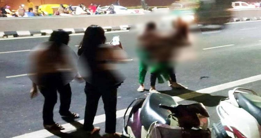 सिग्नेचर ब्रिज किन्नर वीडियो मामला, चार आरोपी गिरफ्तार, बाकी की तलाश