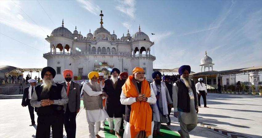 करतारपुर कॉरिडोर: उद्घाटन समारोह में मोदी ने PAK PM इमरान खान को कहा धन्यवाद