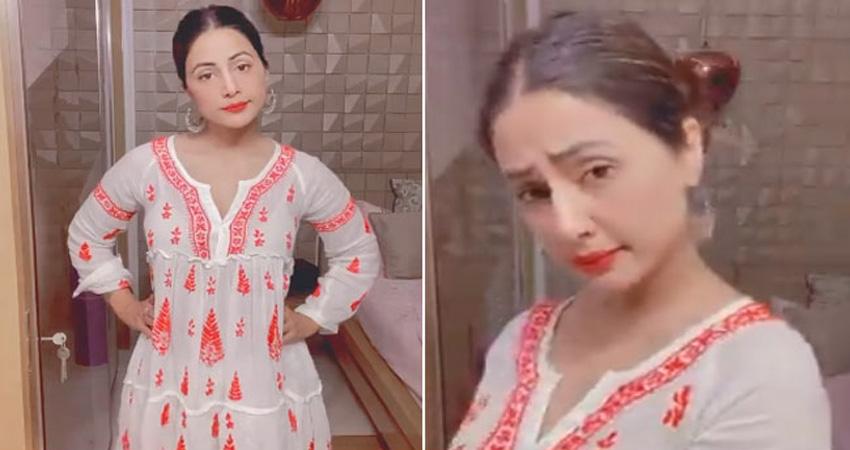 हिना खान को अपने Boyfriend से है शिकायत, नेहा कक्कड़ के गाने पर किया डांस