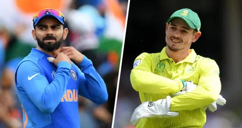 IND vs SA: पहले टी20 मैच में आज आमने-सामने होंगी कोहली-डिकॉक की सेना