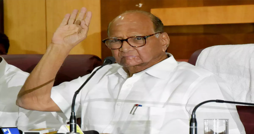 शरद पवार का विवादित बयान- पुलवामा अटैक जैसी घटना बदल सकती है महाराष्ट्र में लोगों का मूड
