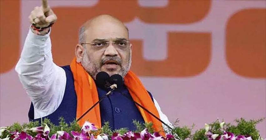 दिल्ली चुनाव: मुंडका में गृह मंत्री शाह की रैली, बोले- चुनाव दो खेमों के बीच है
