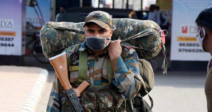 भारतीय सेना का सूबेदार कोरोना पॉजिटिव, पूरी बटालियन होगी क्वारंटाइन