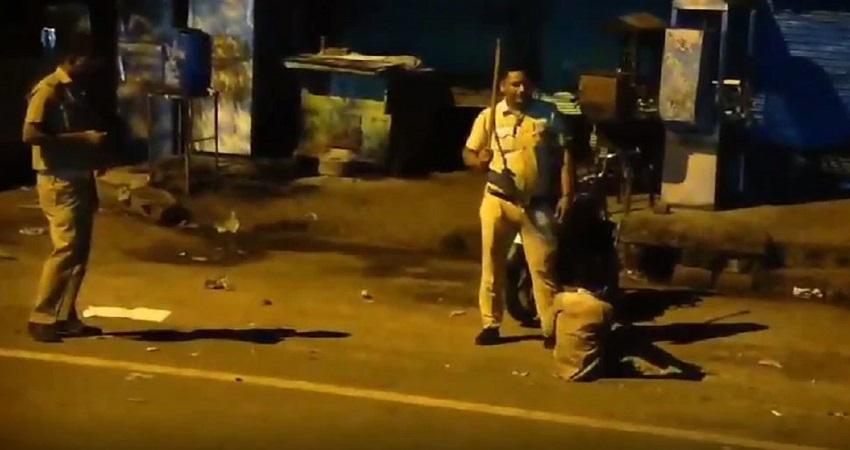 सड़क पर गिराकर बच्चे को बेरहमी से पीटने वाला हेडकॉन्स्टेबल सस्पेंड, Video हुआ था वायरल