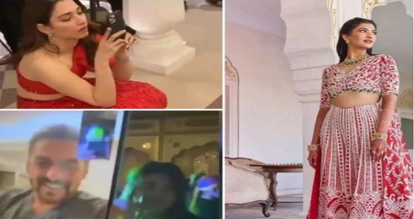 सलमान खान ने वीडियो कॉल करके पूरी की दुल्हन की ख्वाहिश, वहीं तमन्ना भाटिया बनी फोटोग्राफर