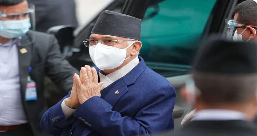 विश्वास मत हारने के तीन दिन बाद ही फिर से नेपाल के PM बने  के पी शर्मा ओली