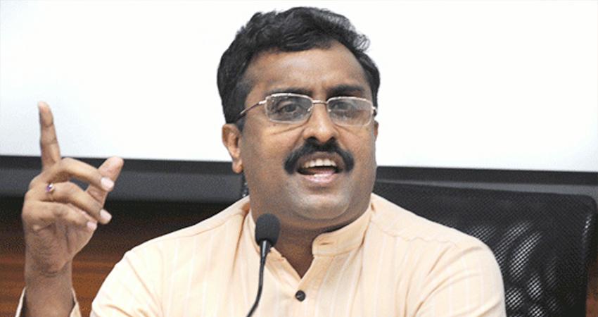 कश्मीर में जो भी अशांति फैलाने की कोशिश करेगा, वो जेल जाएगा- राम माधव