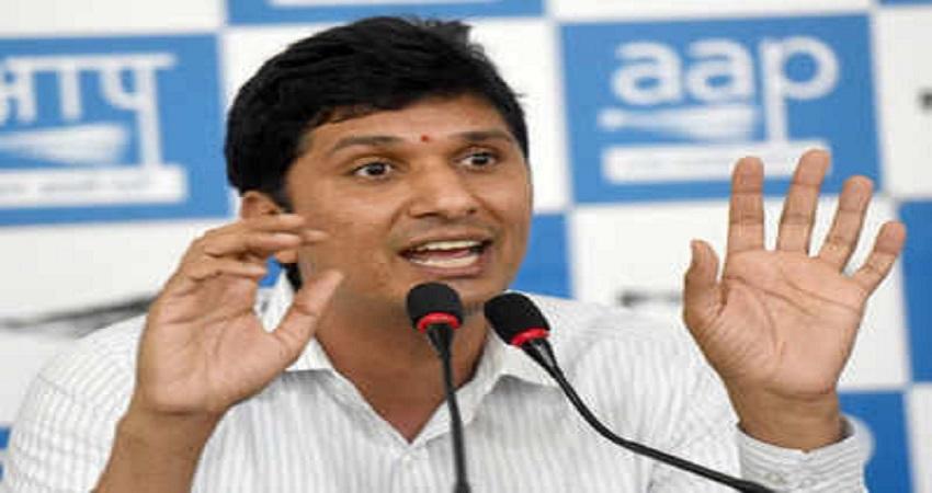 कर्मचारी यूनियन को धरने के बदले वेतन देने को ब्लैकमेल कर रहे BJP नेता: AAP
