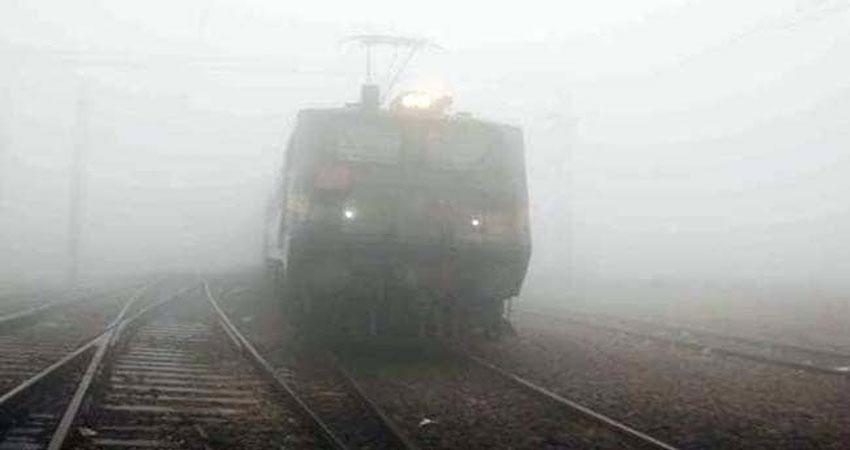 खराब मौसम के कारण दिल्ली आने वाली 11 ट्रेनें हुई लेट