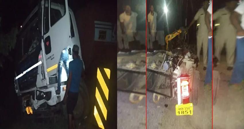 हरियाणा: हिसार से सेना भर्ती परीक्षा से लौट रहे 10 युवकों की सड़क हादसे में मौत