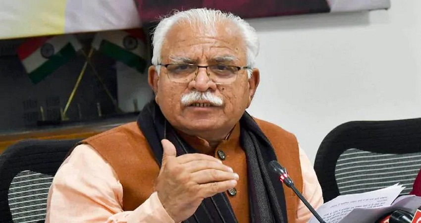 दिल्ली जल संकटः खट्टर का केजरीवाल पर हमला- दिल्ली के CM को अपनी तारीफ की आदत