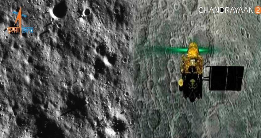 Chandrayaan-2 को लेकर हुआ बड़ा खुलासा, ऑर्बिटर ने भेजी कुछ हैरतअंगेज तस्वीरें