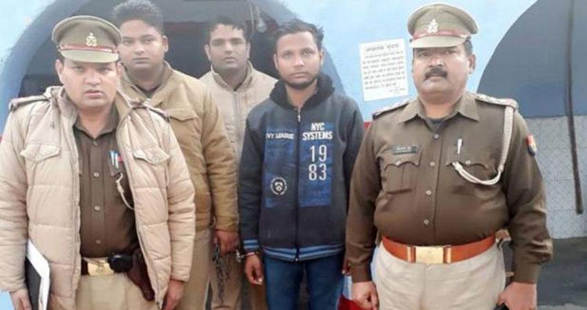 पुलिस की गिरफ्त में बुलंदशहर हिंसा का मुख्य आरोपी योगेश राज