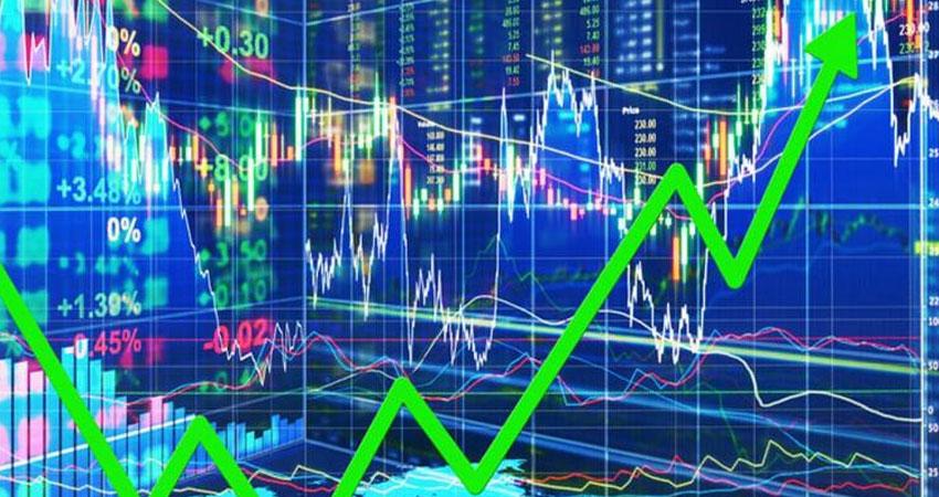 शेयर बाजार में लगातार चौथे दिन नुकसान के बाद सेंसेक्स के कारोबार में दिखा उछाल