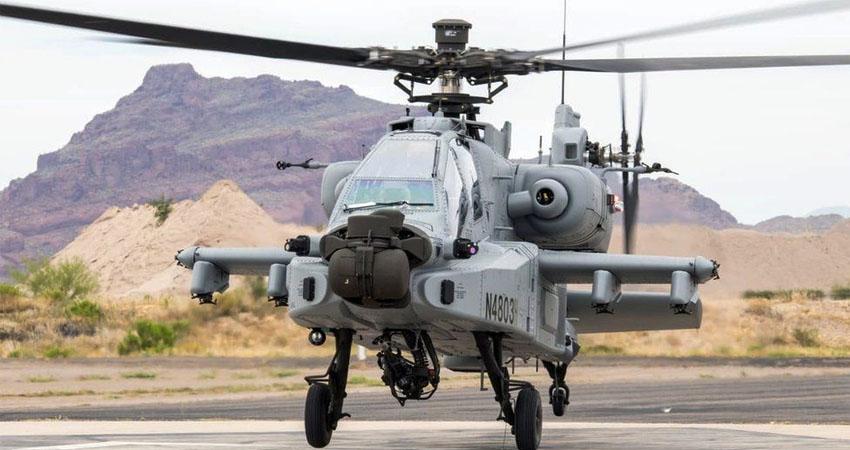 LAC पर चीन से तनाव के बीच किश्तवाड़ में उतरे लड़ाकू अपाचे हेलिकॉप्टर