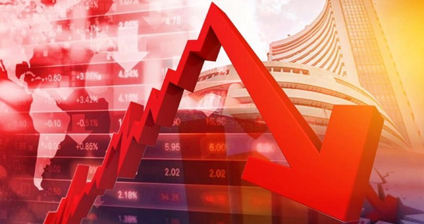 Corona इफेक्ट: शेयर बाजार में गिरावट जारी, सेंसेक्स 2100 अंकों से ज्यादा टूटा