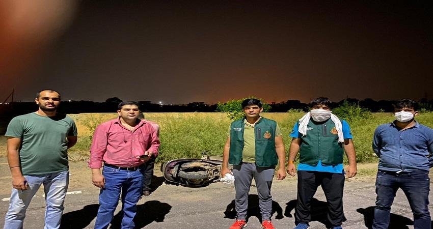 रोहिणी और द्वारका में हुए शूट आउट में दिल्ली पुलिस ने पकड़े शातिर अपराधी