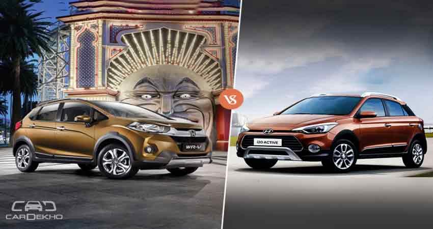 Honda WR V और Hyundai i20 Active, जानें कौन सी है बेहतर