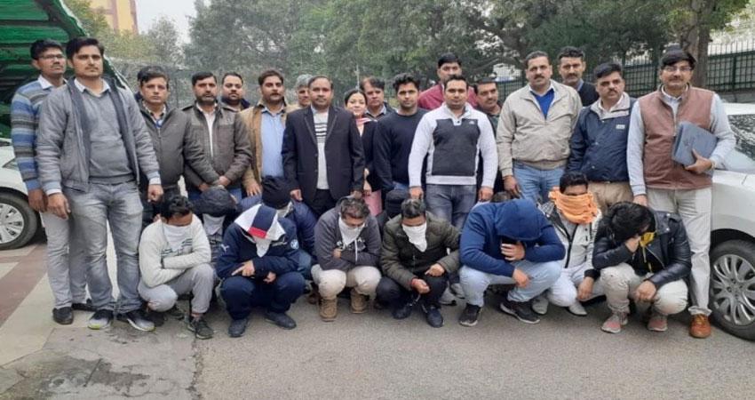 मैच पर 5 करोड़ का सट्टा लगाने वाले 11 गिरफ्तार