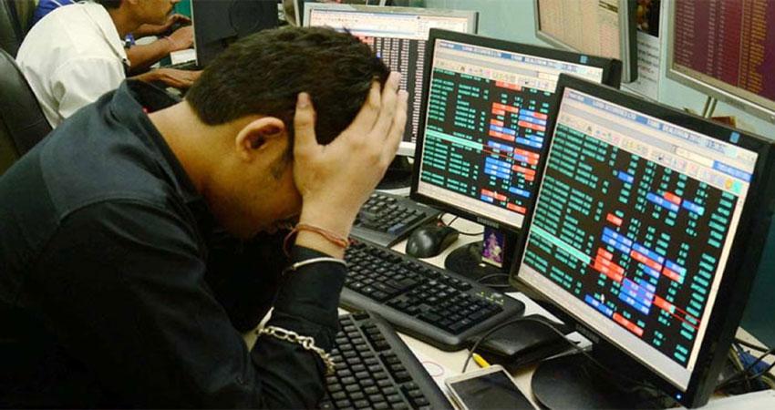 शेयर बाजार में आज भी सुस्ती, 82 अंक नीचे सेंसेक्स