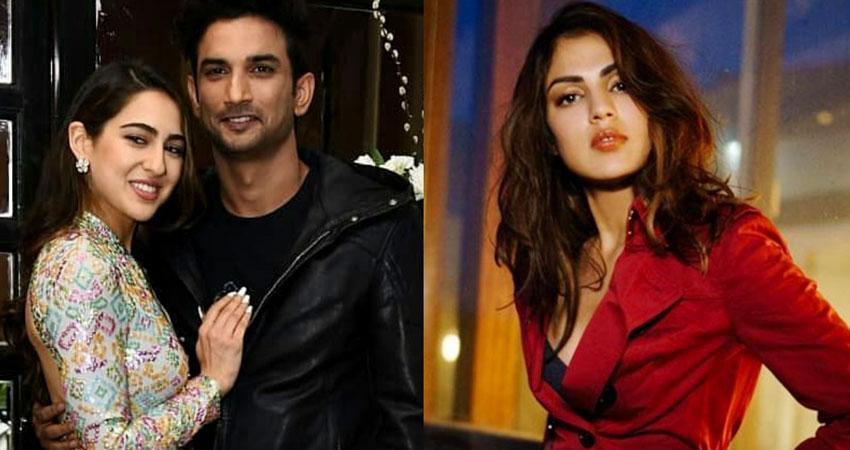 सुशांत केस में रिया ने सारा अली खान पर लगाए गंभीर आरोप, कहा- मुझे गांजे के सिगरेट सर्व करती थी