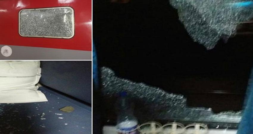 हुडदंगों ने तूफान एक्सप्रेस के यात्रियों से खेली खून की होली, पत्थरबाजी में कई यात्री घायल