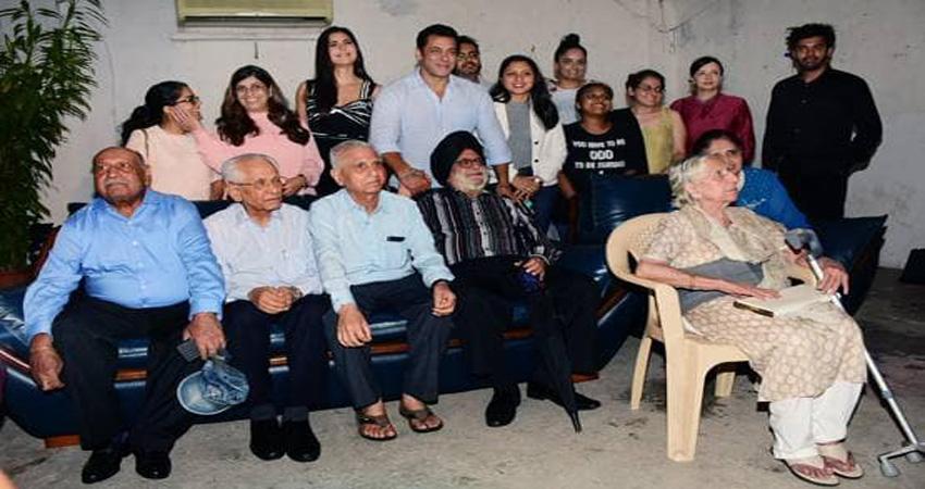 1947 के बंटवारे में मौजूद लोगों के लिए सलमान खान ने रखी ''भारत'' की स्पेशल स्क्रीनिंग