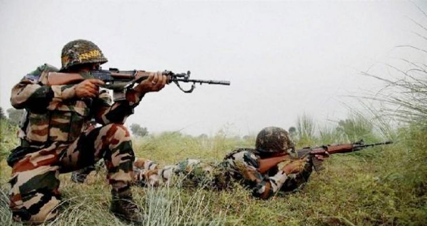 जम्मू-कश्मीर: सुरक्षाबलों और आतंकवादियों के बीच हुई फायरिंग, 2 आतंकी ढेर