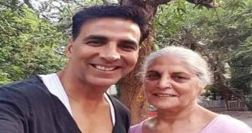 अक्षय कुमार की मां का हुआ निधन, एक्टर ने कहा ''आज मेरा अहम हिस्सा..''