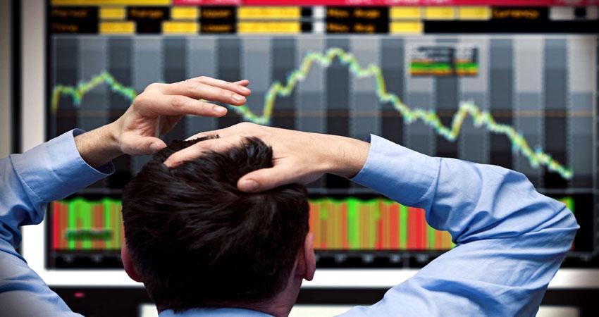 शेयर बाजार में कमजोरी, 60 अंक तक लुढ़का सेंसेक्स