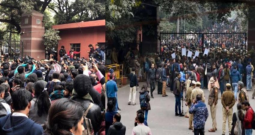 जेएनयू हिंसा: टीचर-स्टूडेंट्स आज करेंगे मार्च, VC को हटाने की मांग