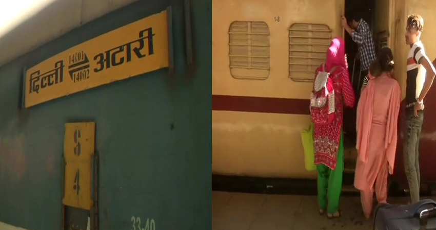 76 भारतीय और 41 पाकिस्तानी यात्रियों को लेकर दिल्ली पहुंची समझौता एक्सप्रेस