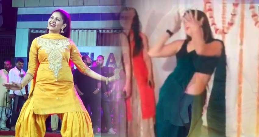 सपना चौधरी के गाने पर रीना द्विवेदी के ठुमके देख यूजर्स हुए क्रेजी, Video हुआ वायरल