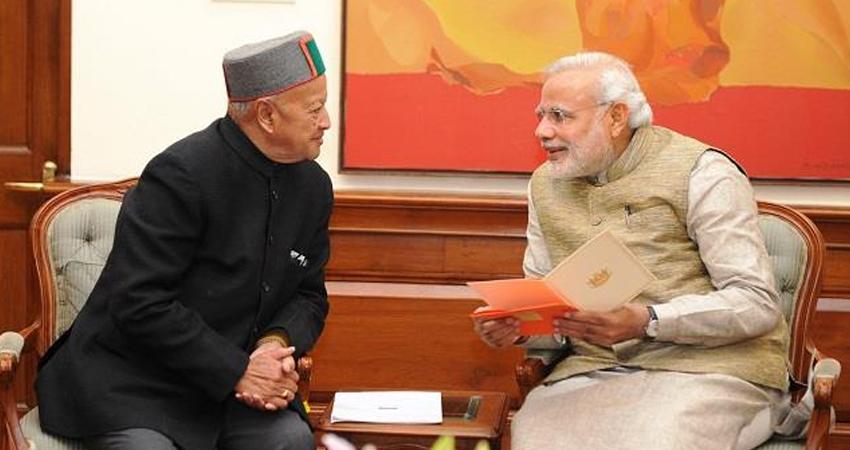 PM मोदी ने पूर्व CM वीरभद्र सिंह के निधन पर जताया शोक, कहा- सिंह ने राज्य में महत्वपूर्ण भूमिका निभा